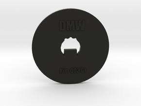 Clay Extruder Die: Rim 002 01 in Black Natural Versatile Plastic