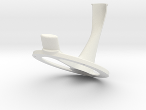 Oculus Rift CV1 Desktop Mount in White Natural Versatile Plastic