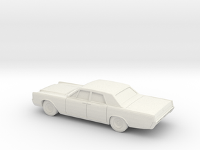 1/87 1969 Lincoln Continental Sedan in White Natural Versatile Plastic