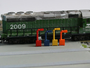 N Scale 12x Boom Cabinet in Smooth Fine Detail Plastic