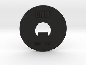 Clay Extruder Die: Rim 003 02 in Black Natural Versatile Plastic