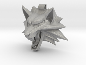 The Witcher's Medallion in Aluminum