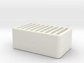 SD Card Holder in White Natural Versatile Plastic