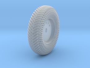 09A2-Front-Right Meshed Wheel in Smooth Fine Detail Plastic