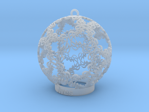 Aves Ornament for lighting in Smooth Fine Detail Plastic