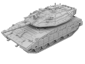 1:87 - Merkava IV [WSF] in White Strong & Flexible