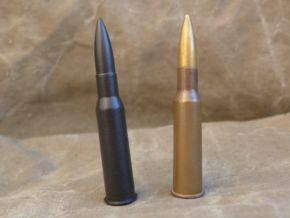7.62x54 R in Black Natural Versatile Plastic