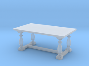 Table, Dining 1:48 in Smooth Fine Detail Plastic