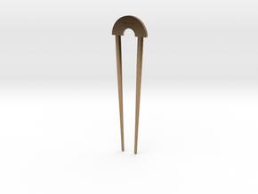 Hairpin - The Loft Hair Salon in Natural Brass
