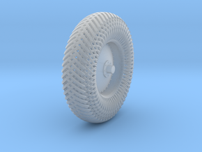 09B2-Back-Right Meshed Wheel in Smooth Fine Detail Plastic