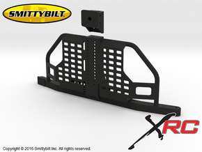 AC10001 Smittybilt XRC Atlas Tire Carrier in Black Strong & Flexible