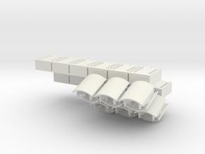 1:18 ERA Panels Additional X2 in White Natural Versatile Plastic
