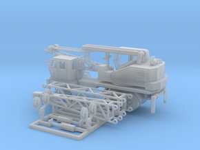 Mow Idler Crane HO Scale in Smooth Fine Detail Plastic