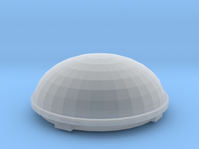 1/25 1/24 Satellite dome for semi truck RV in Frosted Ultra Detail