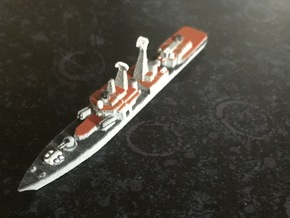 Udaloy II-class destroyer, 1/1800 in White Natural Versatile Plastic