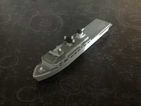 Albion-class LPD, 1/1800 in White Natural Versatile Plastic