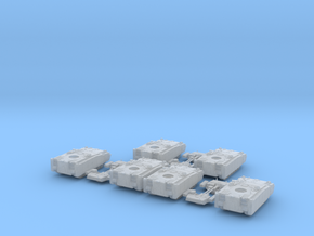 Kurganets 25 IFV (6 vehicles)  1:285th scale in Smooth Fine Detail Plastic