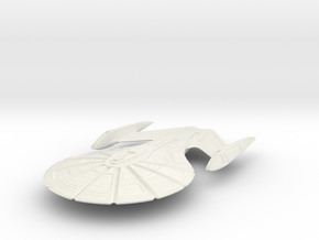 "Insignia Class Cruiser  2"" in White Strong & Flexible"
