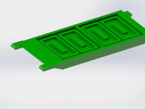 Porpoise Ammo Sled 1/285 6mm in Smooth Fine Detail Plastic