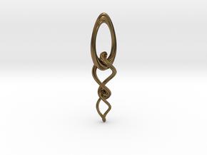 Flex circle in Interlocking Raw Bronze