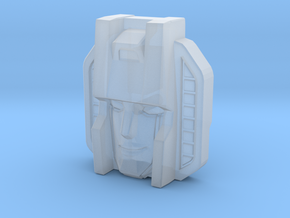 Starscream Face, Sunbow (Titans Return) in Smooth Fine Detail Plastic
