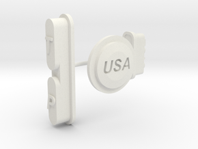 Make America Great iPhone 6S Tough Case Buttons in White Natural Versatile Plastic