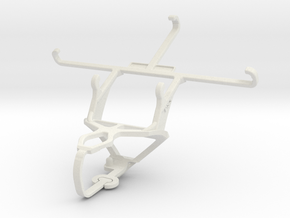 Controller mount for PS3 & Oppo A37 in White Natural Versatile Plastic