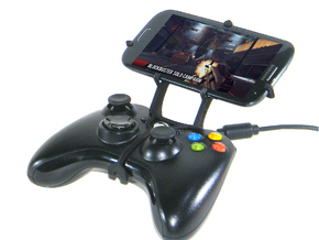Xbox 360 controller & Yezz Andy 5.5M LTE VR - Fron in Black Natural Versatile Plastic