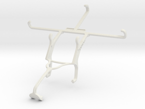 Controller mount for Xbox 360 & Yezz Andy 5.5M LTE in White Natural Versatile Plastic