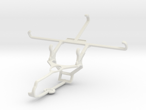 Controller mount for Steam & Yezz Andy 5.5M LTE VR in White Natural Versatile Plastic