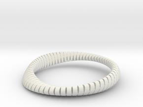 WAVE SHF 09b02 in White Natural Versatile Plastic