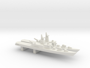 Haruna-class DDH (1973) x 2, 1/3000 in White Natural Versatile Plastic