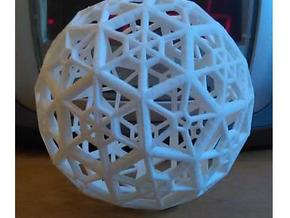Industrial Geo Bucky-2-Asmb in White Natural Versatile Plastic