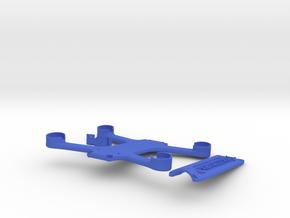 Skidmark Nano V1 in Blue Processed Versatile Plastic