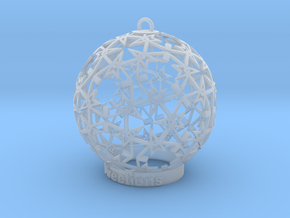 Directions Ornament for lighting in Smooth Fine Detail Plastic