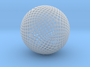 Designer Sphere in Smooth Fine Detail Plastic