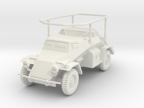 PV136D Sdkfz 261 Long Range Radio Car (1/56) in White Natural Versatile Plastic