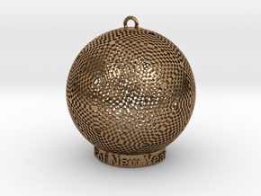 Pixel Light Of New Year in Natural Brass
