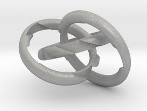 Three Phase Puzzle Ring in Aluminum: 6 / 51.5