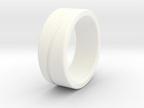 Type B Small in White Processed Versatile Plastic