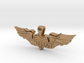 The Original Sweetheart Wing in Polished Brass