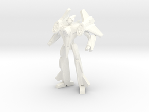 VF-4 Battroid 1/285 in White Processed Versatile Plastic