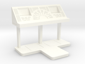 Command Console - Free Standing 1/10 in White Strong & Flexible Polished