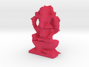 Ganesha Layered in Pink Processed Versatile Plastic
