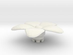FLEURISSANT - Flower #2 in White Natural Versatile Plastic