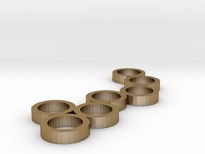 FLEURISSANT - Frame #1 in Polished Gold Steel