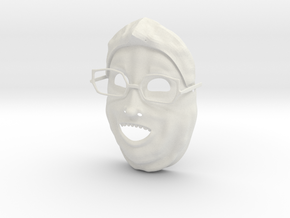 Bwarg  Markiplier Mask in White Strong & Flexible