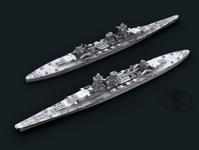 1/4800 IJN BC B65 Project [1942] (x2) in Frosted Ultra Detail