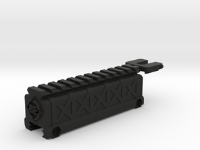 Scope Riser / Battery Keeper in Black Strong & Flexible