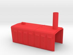 399 107 Wangerooge-vorderer Anbau in Red Strong & Flexible Polished